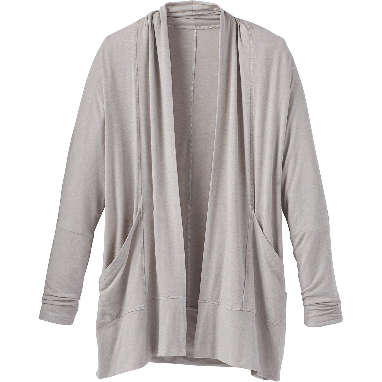 W's Prana Foundation Wrap - Light Grey Heather