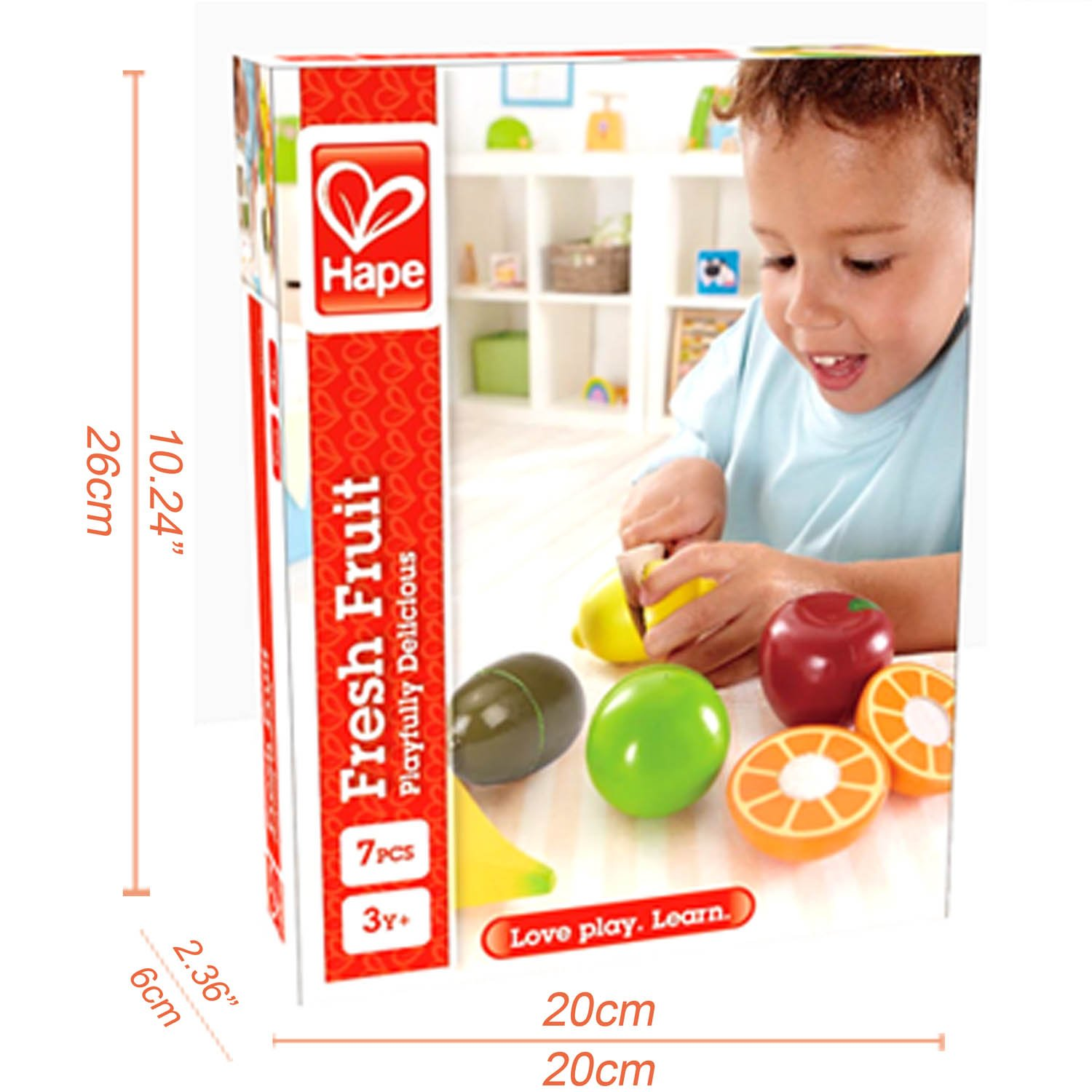 Hape Wooden Fresh Fruit Cutting Set SALE