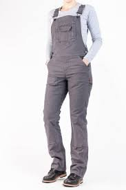 Freshley Overall Dark Grey Canvas