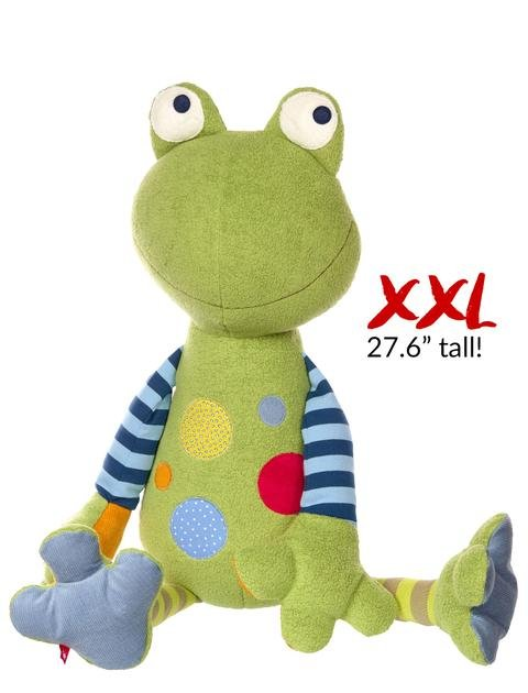 Sigikid Patchwork Frog XXL or Small
