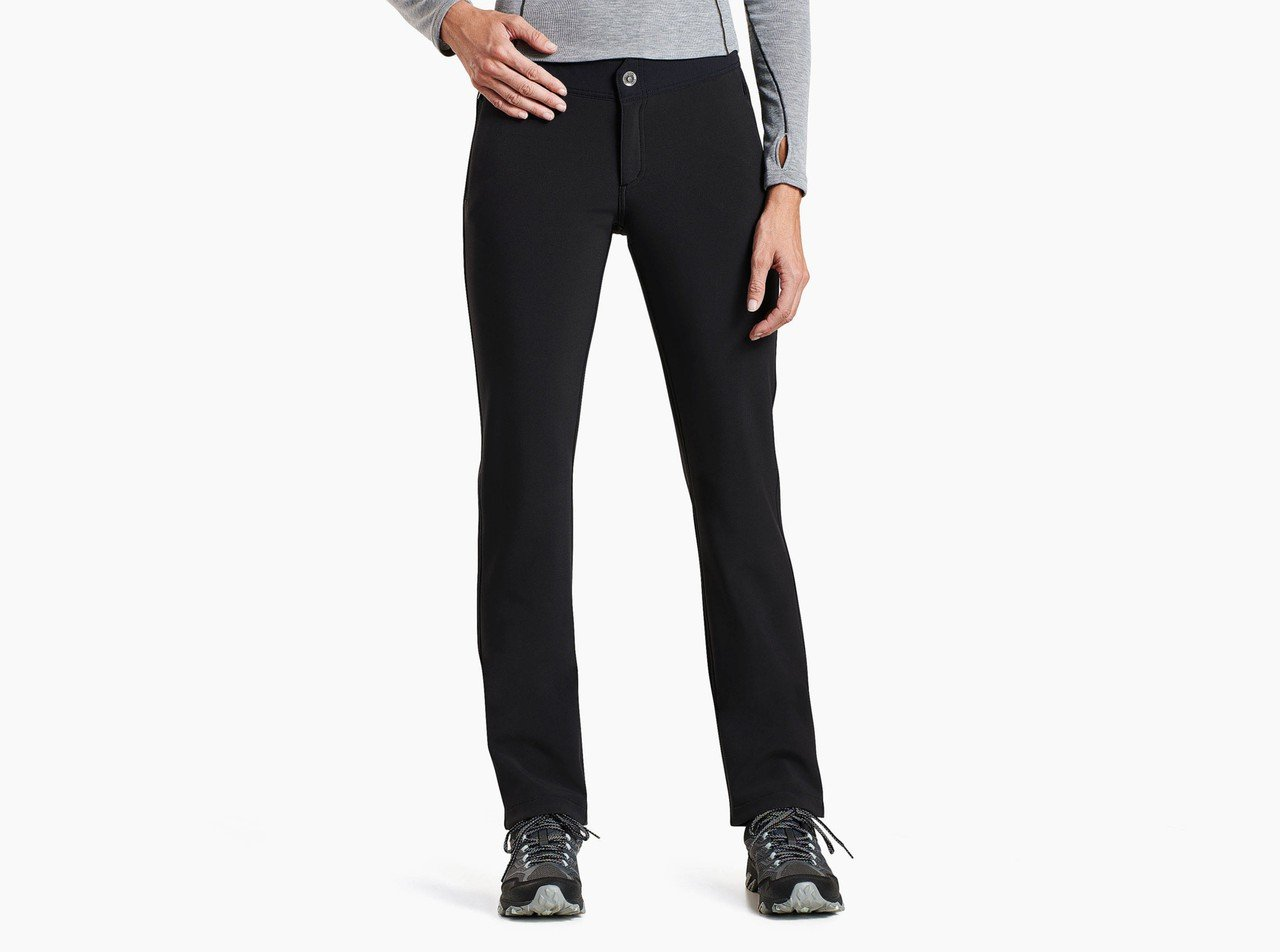 Women's Frost Softshell Snow Pant in Black by Kuhl