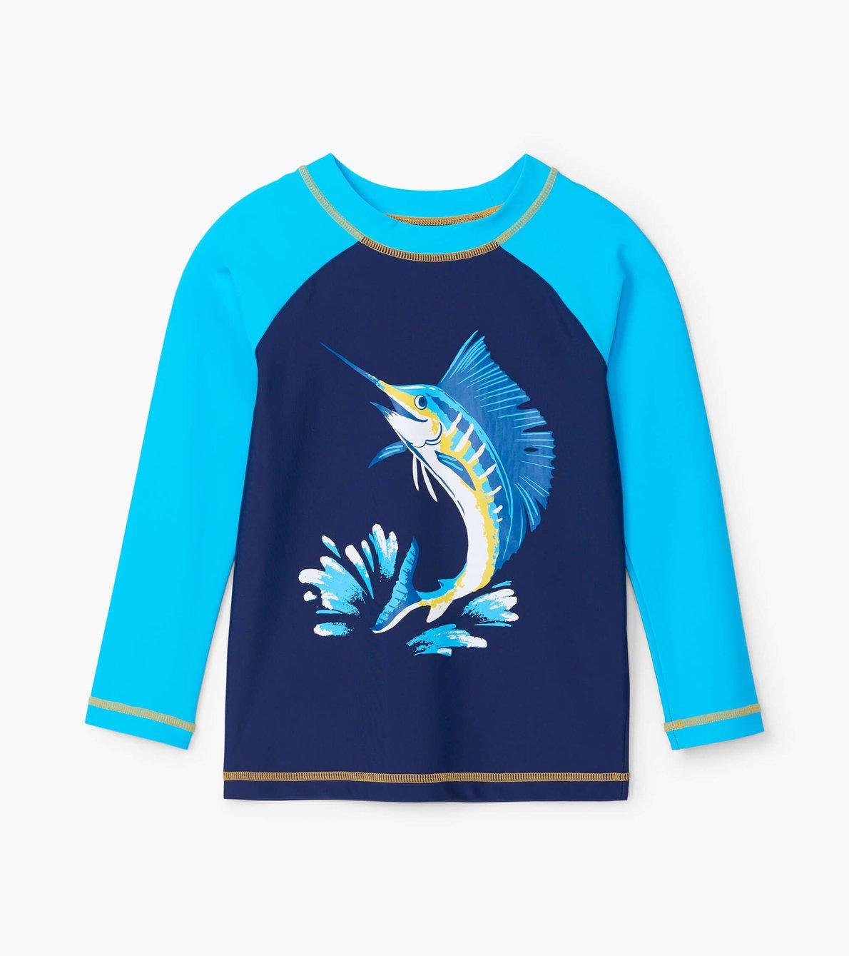 Hatley Game Fish Long Sleeved Rashguard