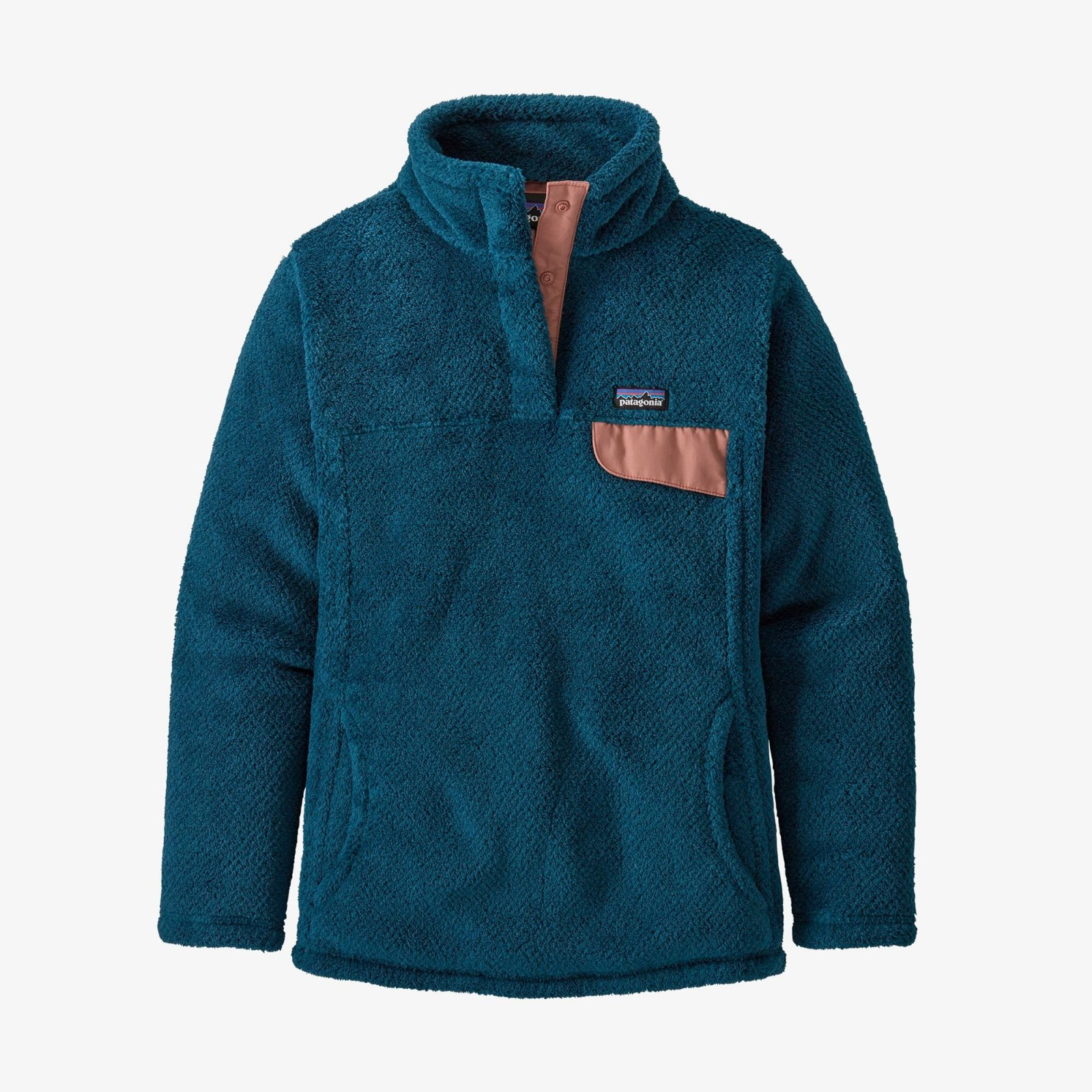 Girls Patagonia Re-Tool Snap T Pullover - Crater Blue