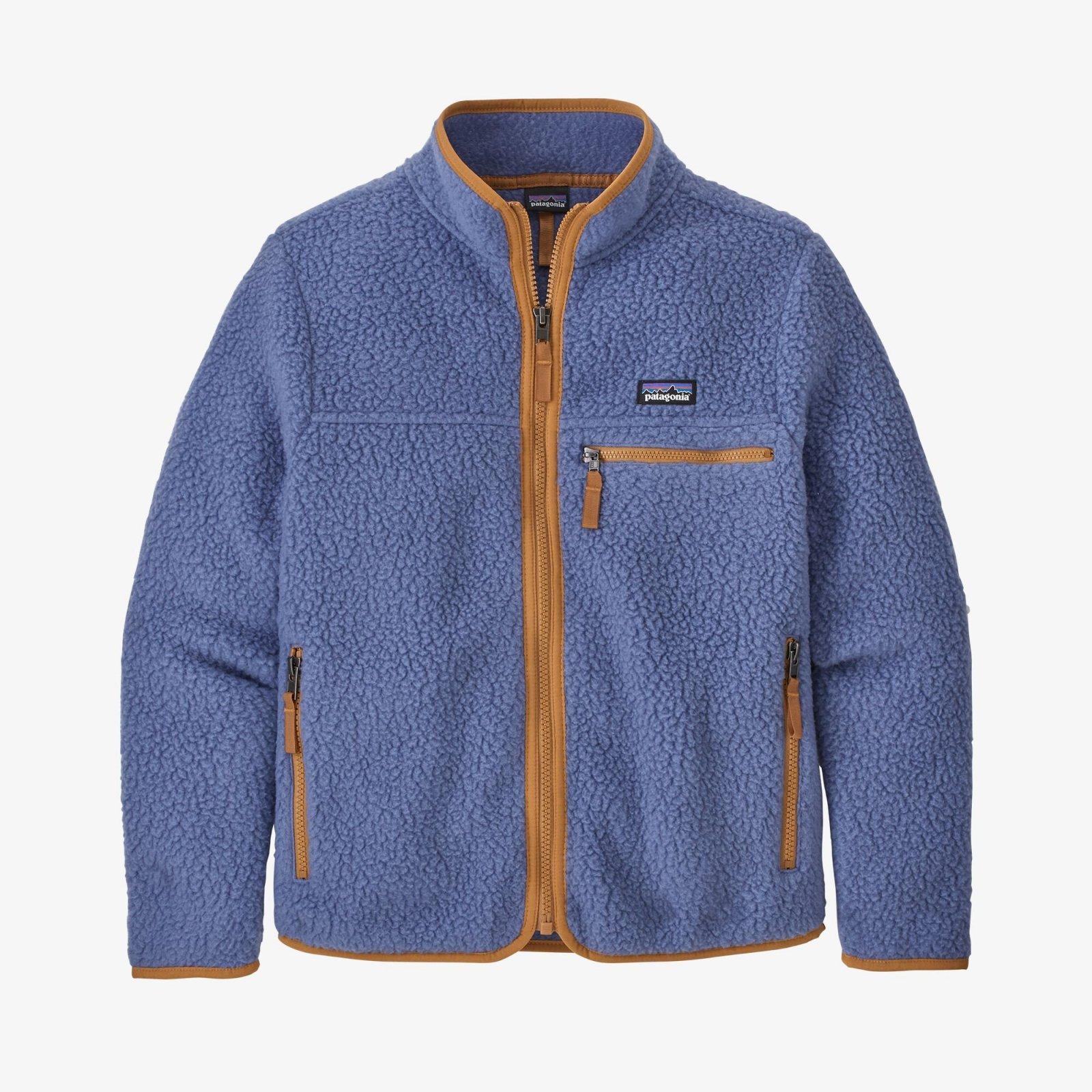 Patagonia Girls Retro Pile Jacket - Current Blue