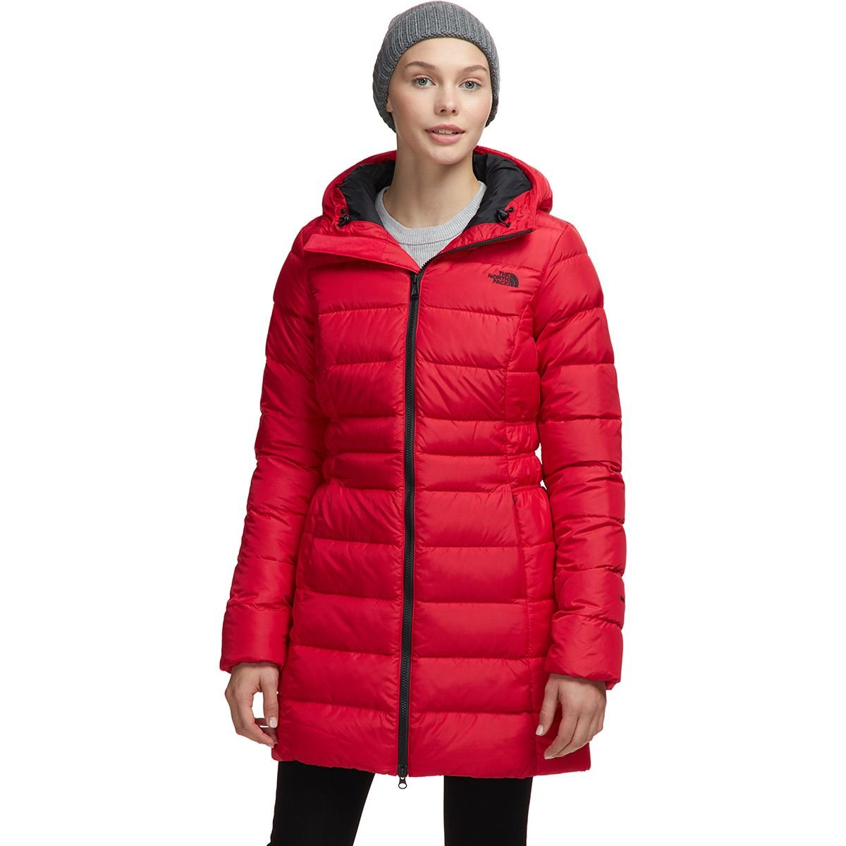 W's North Face Gotham Down Parka 2 TNF Red