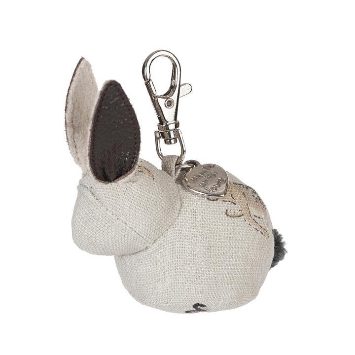 Bunny Hare Keyring by Sophie Allport