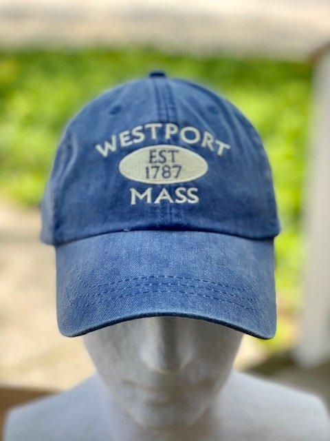 Westport Hat Established 1787 - Denim Blue