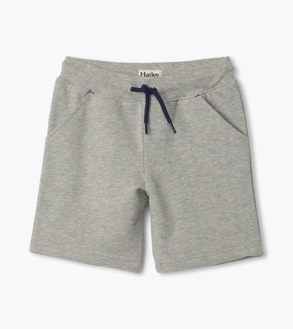 Hatley Boys Athletic Terry Shorts Grey