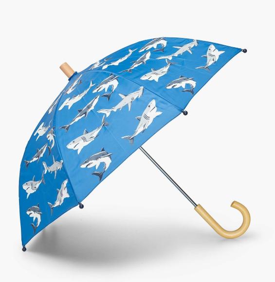 Hatley Deep Sea Sharks Umbrella