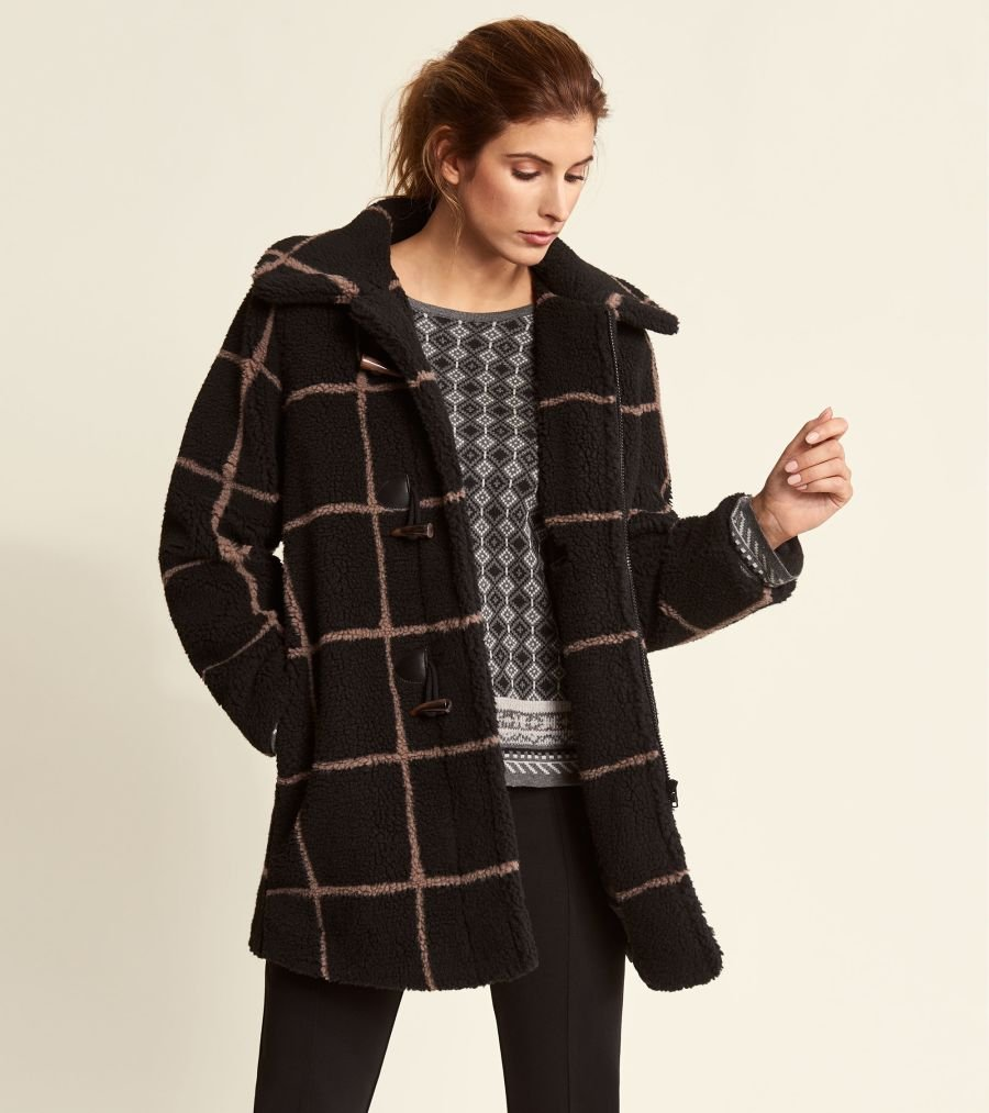 Teddy Toggle Coat in Black by Hatley