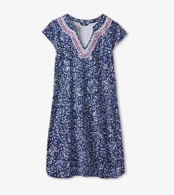 W's Hatley Zara Dress - Batik Flowers