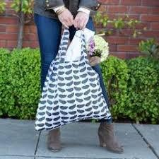 BluBag Reusable Shopping Bag - Highland Bird Black