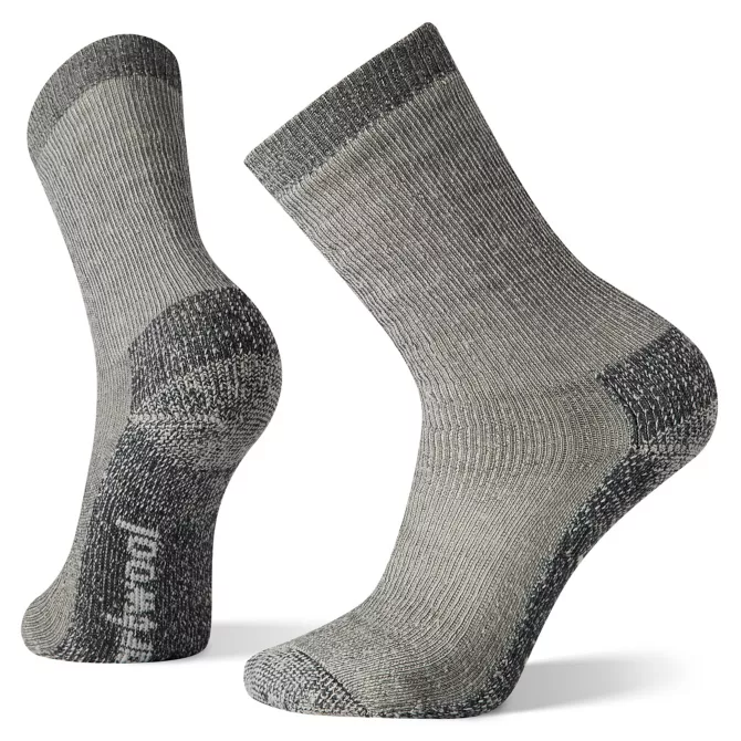 M's Smartwool Hike Classic Extra Cushion Crew Socks in Medium Gray