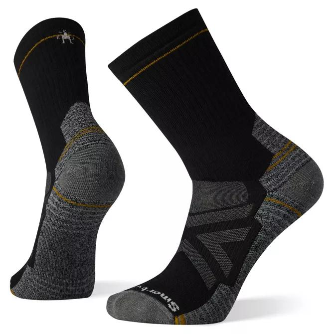 M's Smartwool Hike Full Cushion Crew Socks in Black