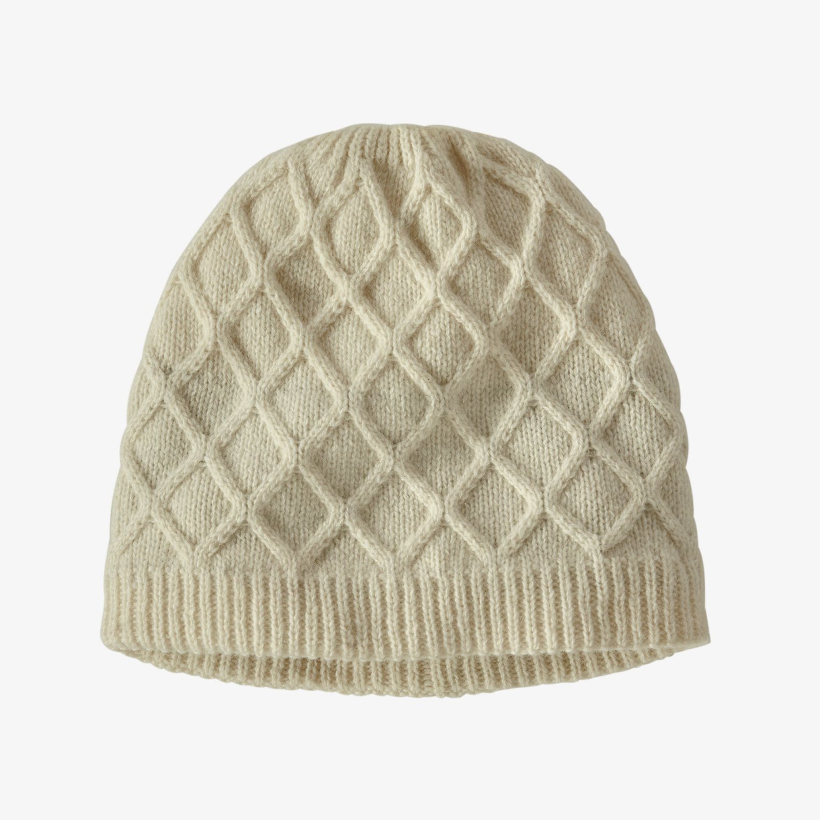W's Honeycomb Knit Beanie in Birch White by Patagonia