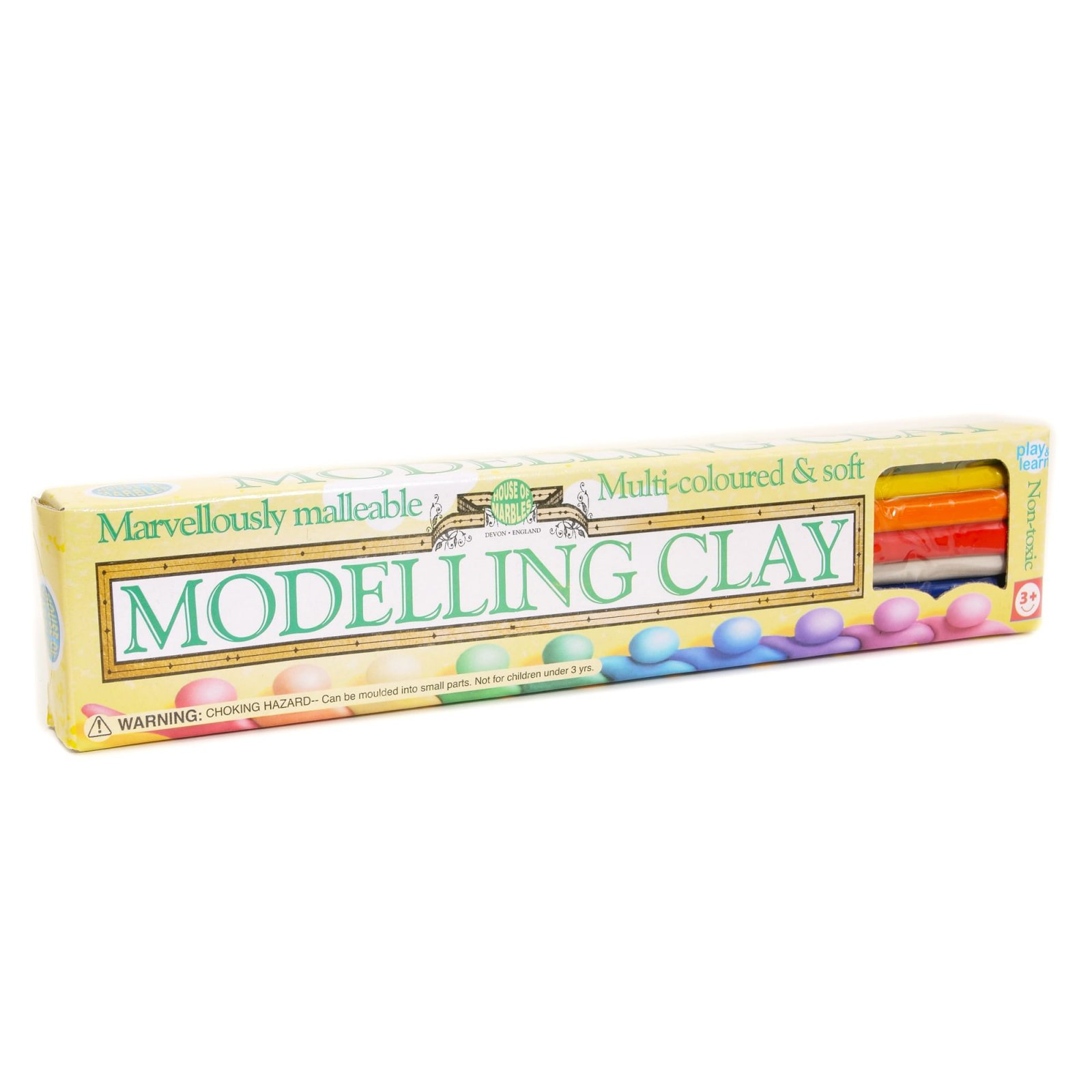 Multi-Colored Malleable Modeling Clay Kit