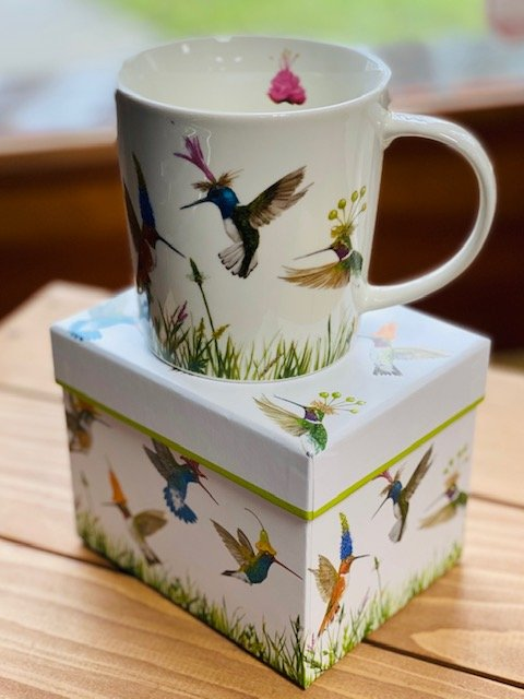 Mug In Gift Box - Hummingbird
