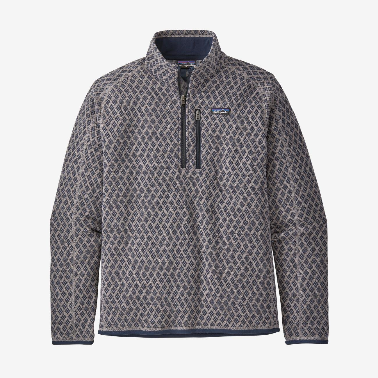 M's Patagonia Better Sweater 1/4 Zip - Imprint
