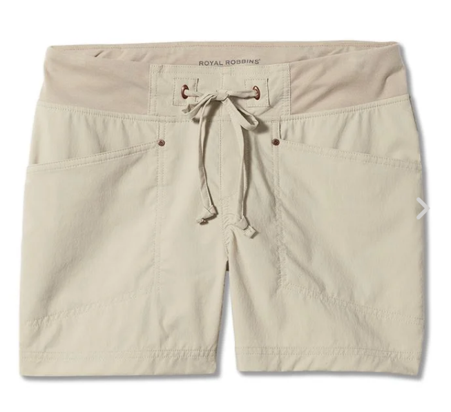 W's Royal Robbins Jammer Short - Light Khaki