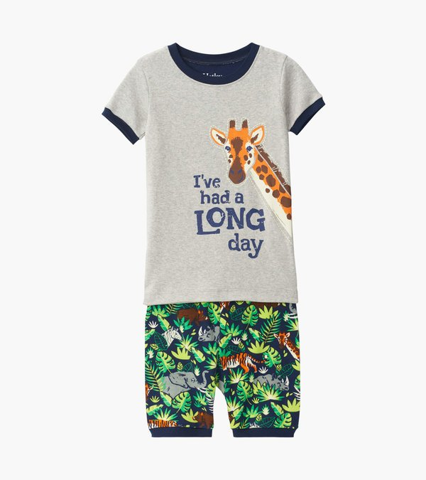 Hatley Boys Jungle Safari Short PJ Set