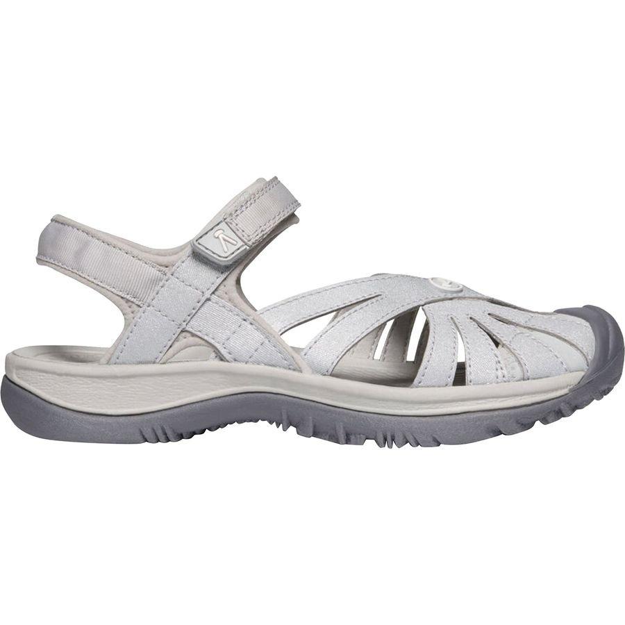Women's Keen Rose Sandal Light Grey/Silver