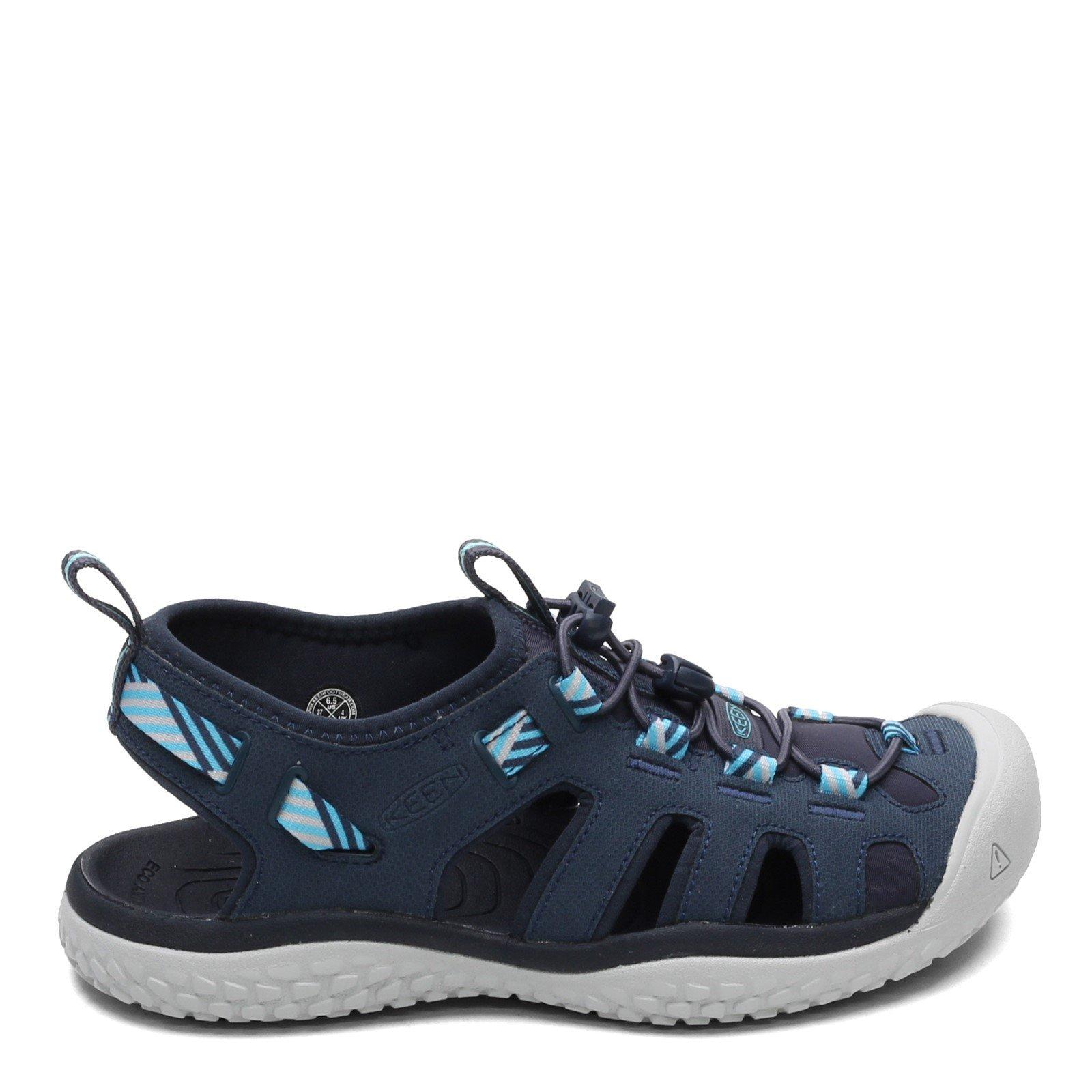 Women's Keen Solr Sandal Navy/Blue Mist