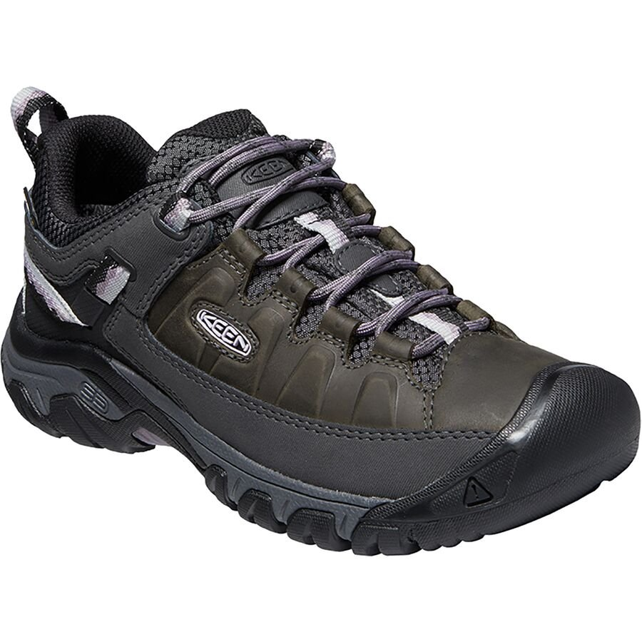 W's Keen Targhee III Waterproof - Black/Thistle