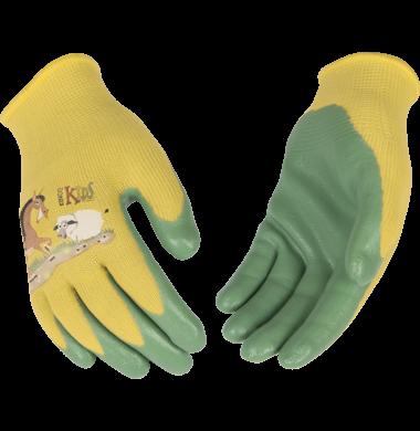 1785 Kids Nylon Nitrile Palm Glove