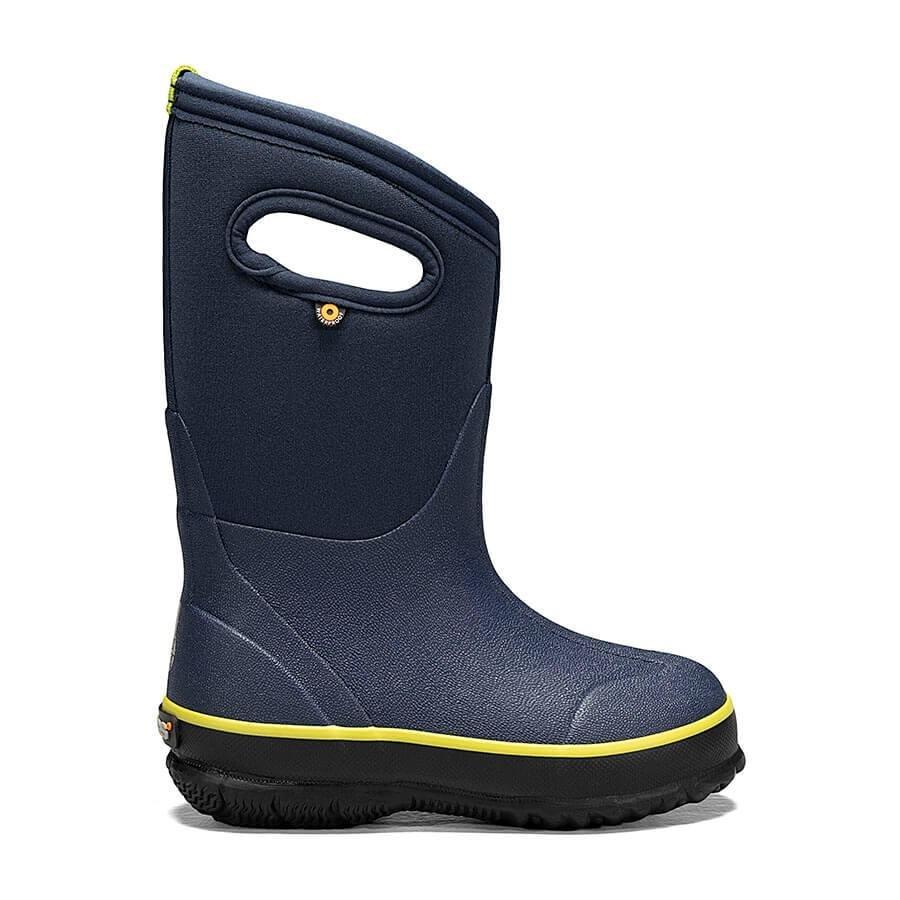 Kids Classic Bogs Boot - Navy Texture
