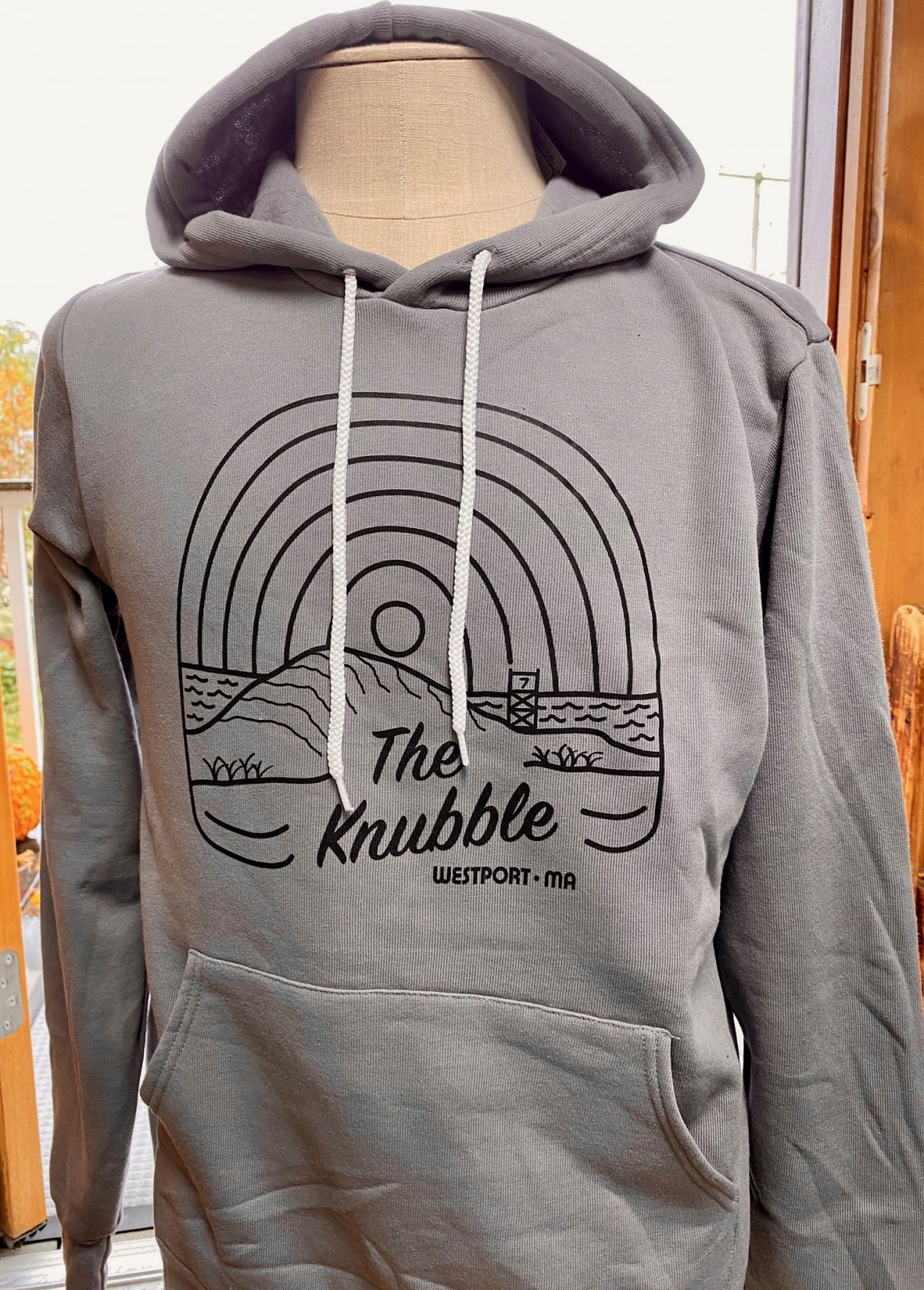 Atlantica Apparel Adult Hoody - Knubble Sunrise Grey