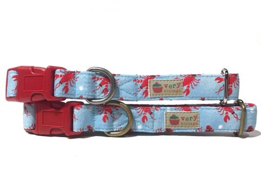Collar & Leash Collection - Lobster Claw
