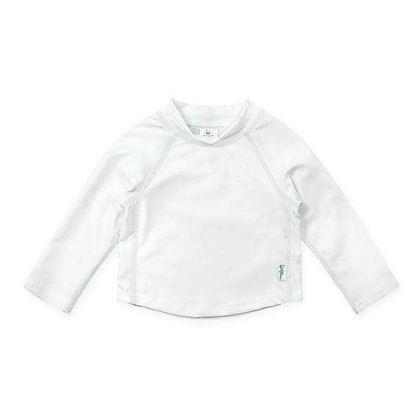 Baby Long Sleeve Rashguard - White