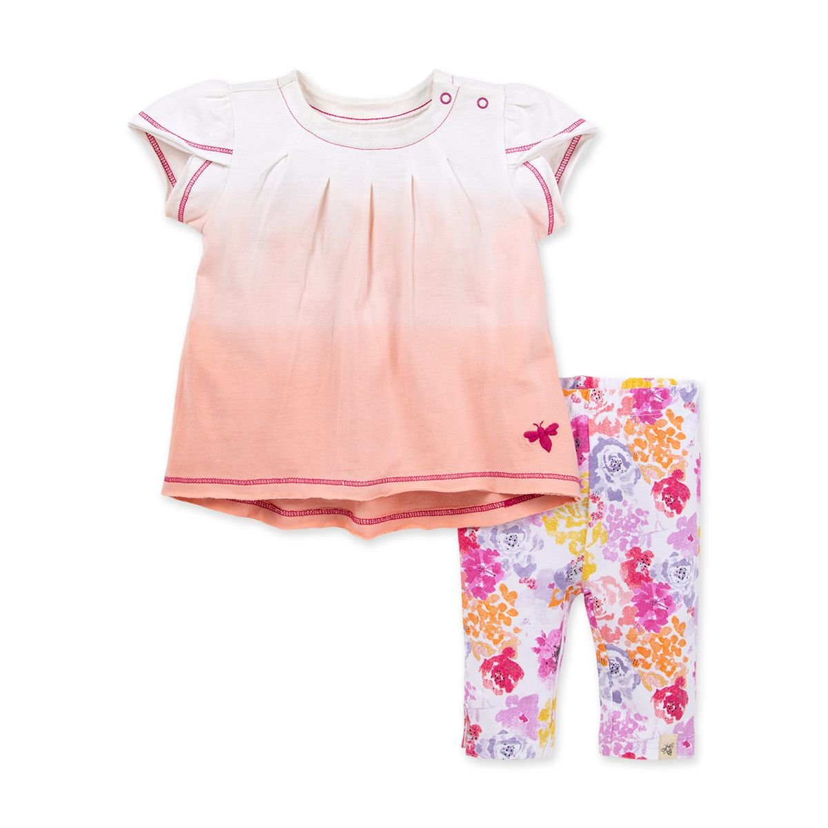 Dip Dye Floral 2 Pc Set LY26595