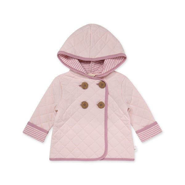Burts Bees Baby LY27140 Diamond Quilted Jacket