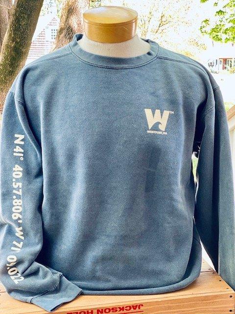 TownWear Men's Westport Crewneck Sweatshirt - Blue
