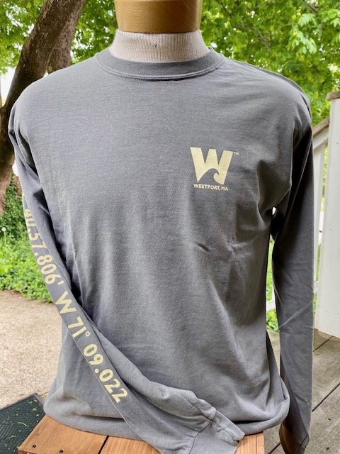 M's Townwear Westport Long Sleeve T Shirt - Grey