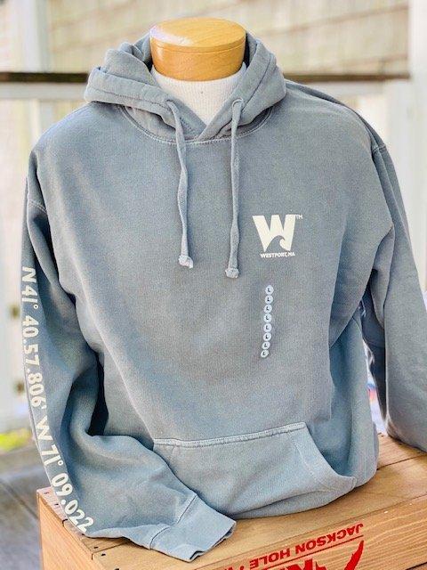M's Townwear Westport Hoody Sweatshirt - Grey
