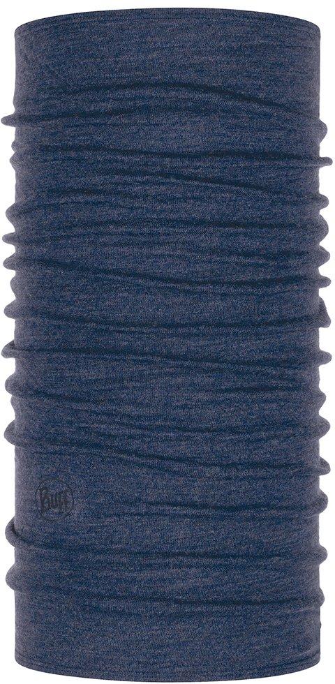 Buff Headwear Midweight Merino Wool - Night Blue Melange