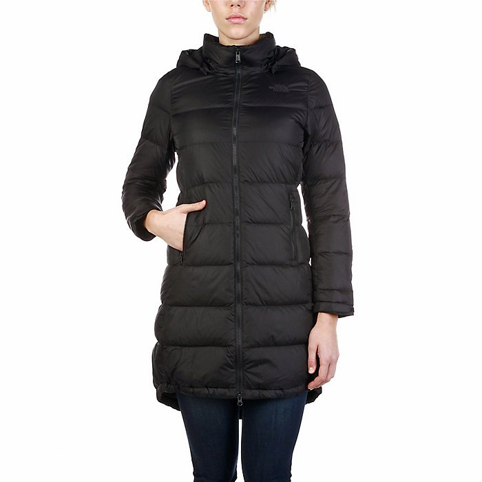 W's Metropolis Parka 3 in Black by North Face