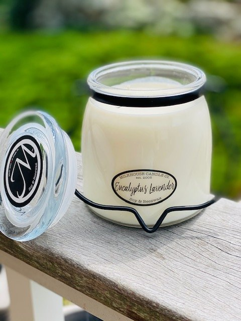 Milkhouse Candle 16oz Butter Jar - Eucalyptus & Lavender SALE