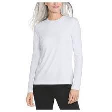 Coolibar UPF 50+ Morada Everyday Long Sleeve Tee - White