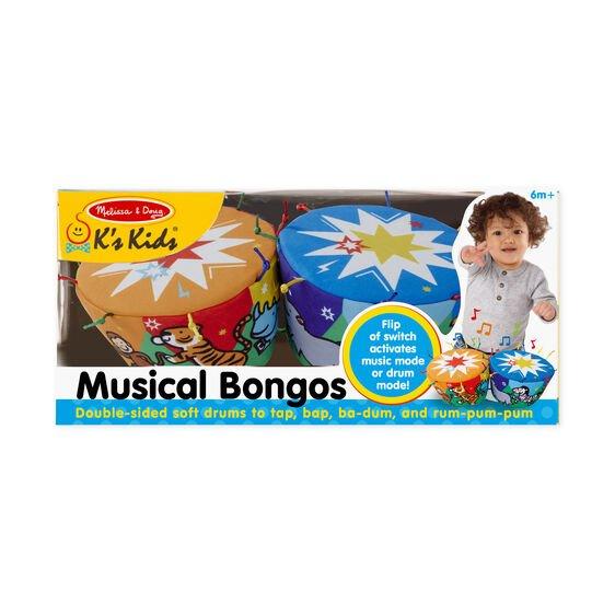 Melissa & Doug Soft Musical Bongos