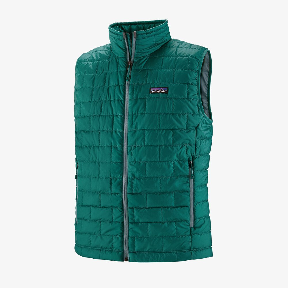 Men's Patagonia Nano Puff Vest - Borealis Green
