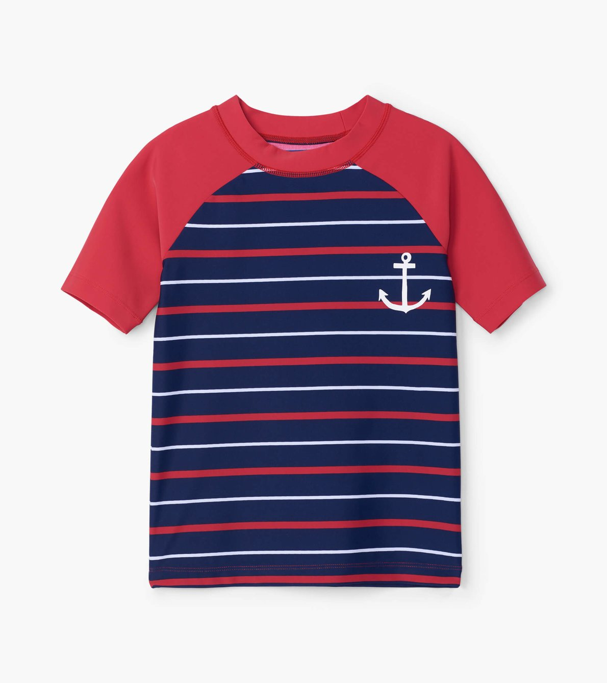 Hatley Nautical Stripe Short Sleeve Rashguard