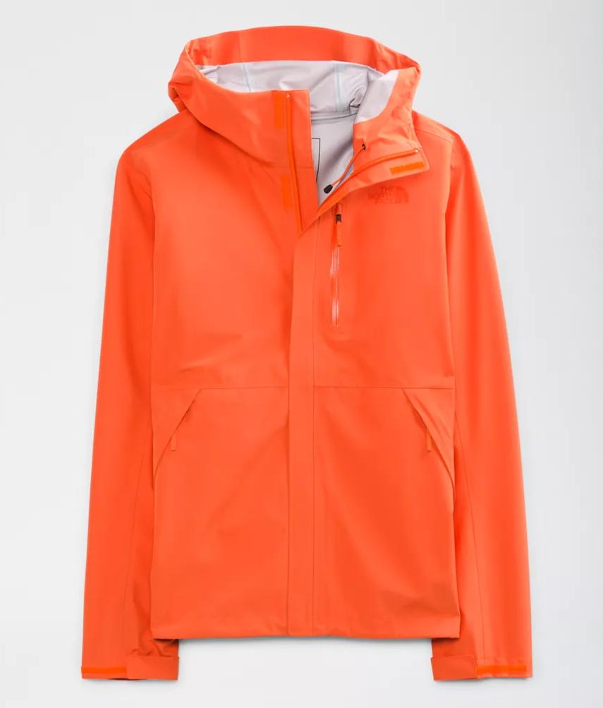 M's North Face Futurelight Dryzzle Jacket - Flame Orange