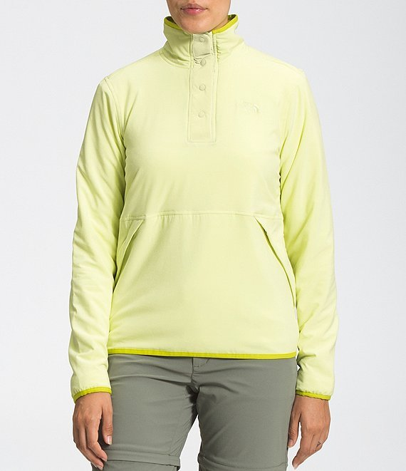 W's Mountain Sweatshirt Pullover - Pale Lime Yellow