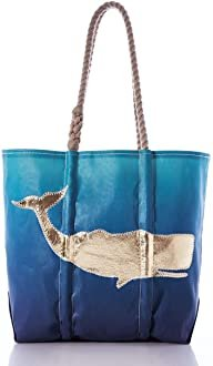 SeaBags Medium Tote - Ombre Whale