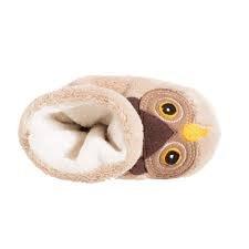 Baby Easy Critter Slipper Bootie Owl