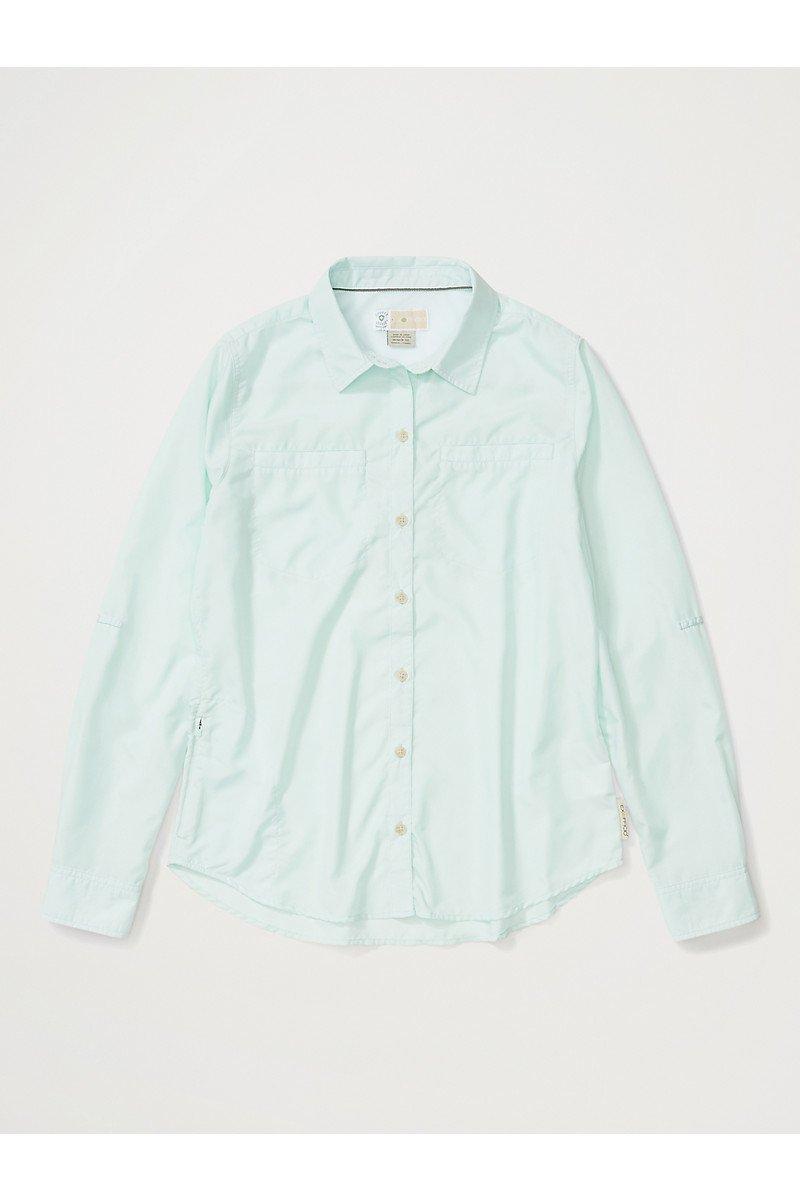 Women's BugsAway Palotina Long Sleeve Button Up Shirt - Herbal Mist