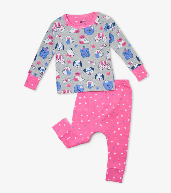 Playful Pups Organic Cotton Baby PJ Set by Hatley